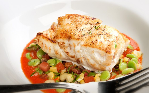 grouper-and-succotash