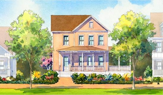 Terrace Floor Plan by FrontDoor Communities   Summers Corner