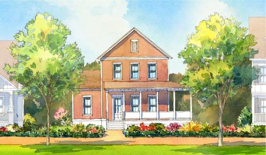 Garden Floor Plan by FrontDoor Communities   Summers Corner