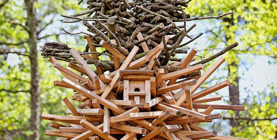 Bird House in the North Charleston Neighborhood of Summerville