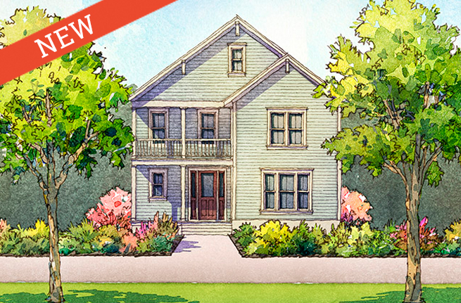 Carolina Cherry Floor Plan - New Homes for Sale in Summerville, SC 1