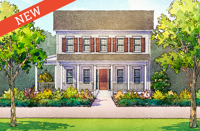 Leyland Floor Plan - New Homes for Sale in Summerville, SC 1