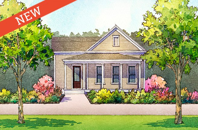 Sassafras Floor Plan - New Homes for Sale in Summerville, SC 1