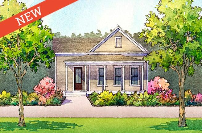 Sassafras Floor Plan - New Homes for Sale in Summerville, SC 1