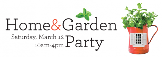 Home And Garden Party Banner
