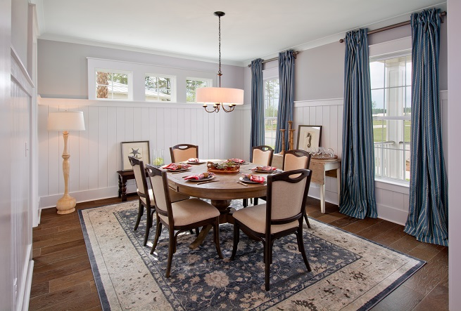 Firethorn Plan a Sabal Homes Dining Room View near Charleston, SC