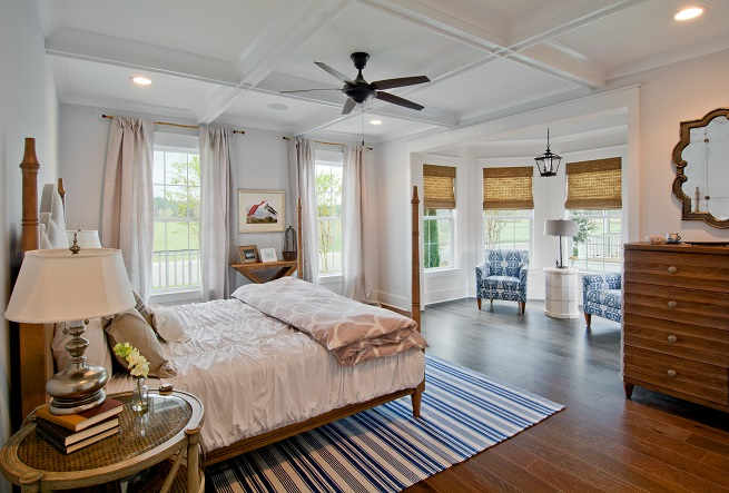 Firethorn Plan a Sabal Homes Bedroom View near Charleston, SC