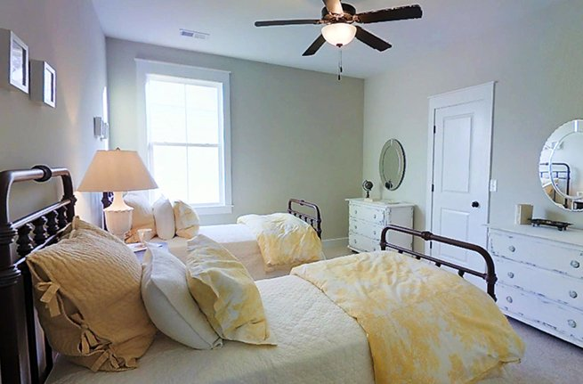 Camelia Plan a Sabal Homes Bedroom View in Summerville, SC