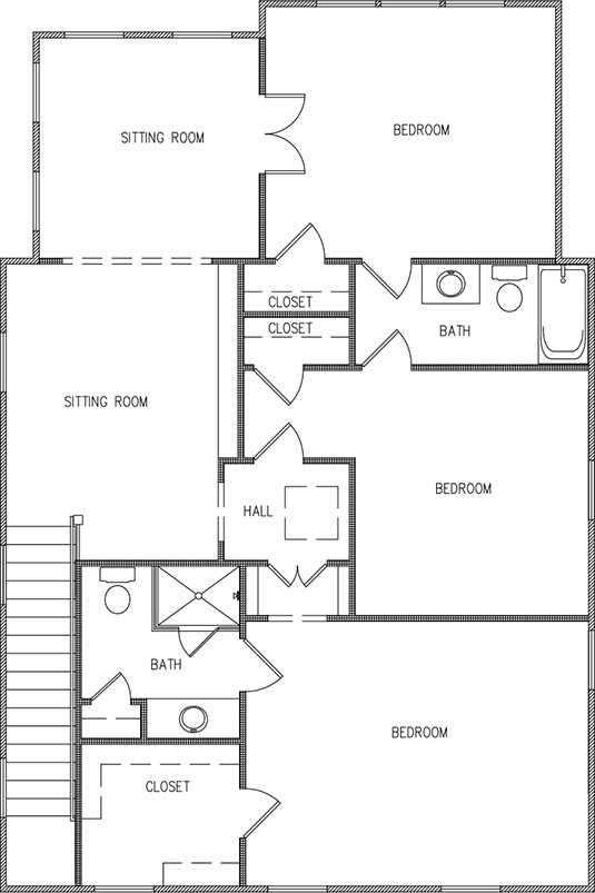 Aspen Plan a FrontDoor Communities Second Floor Plan near Charleston, SC