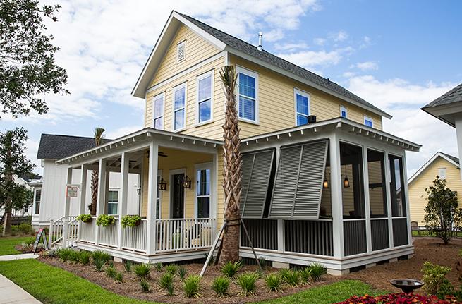 Azalea Plan a FrontDoor Communities Patio View in Summerville, SC