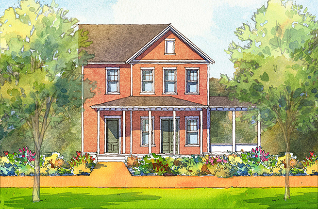 Azalea Plan By FrontDoor Communities, New Homes In South Carolina