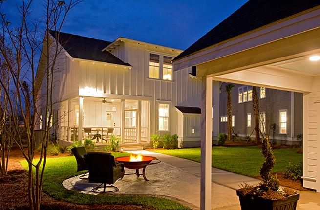 Camelia Plan a Sabal Homes Backyard View in Summerville, SC