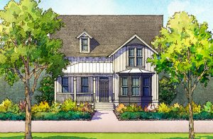 Camelia Plan a Sabal Homes House Drawing in Summerville, SC