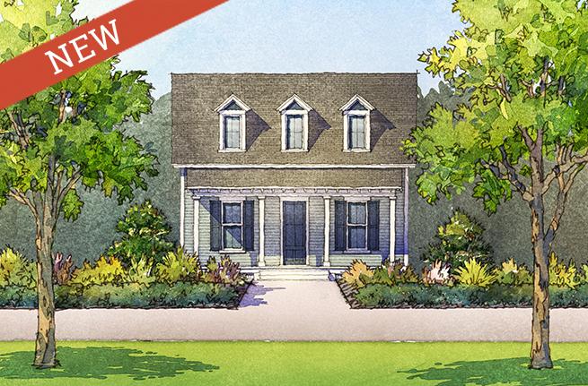 Cottonwood Floor Plan - New Homes for Sale in Summerville, SC 1