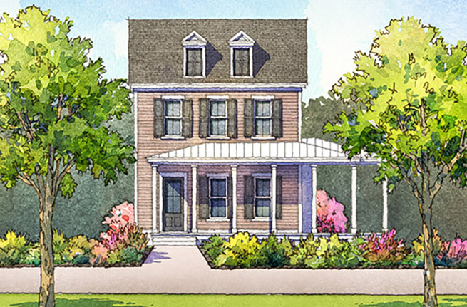 Daisy Plan a FrontDoor Communities House Drawing in Summerville, SC
