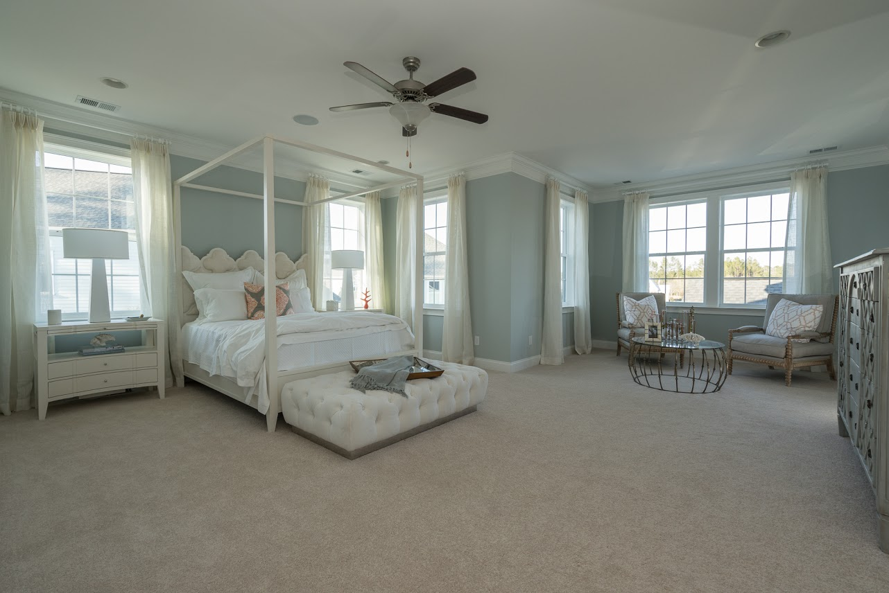 Keeneland Plan a Dan Ryan Builders Master Bedroom View in Summerville, SC