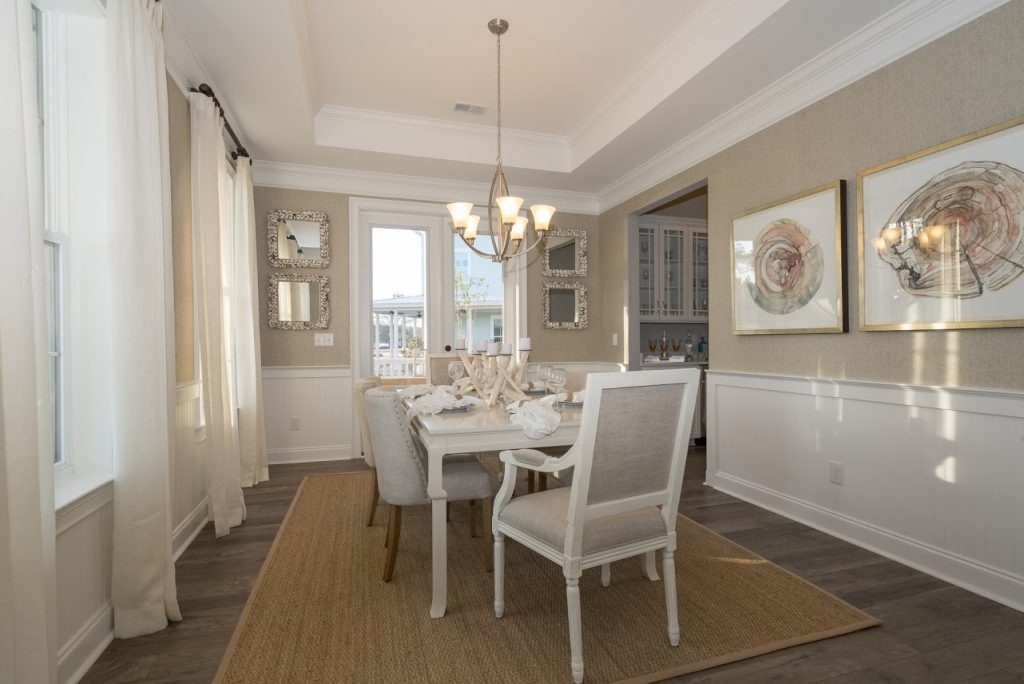Keeneland Plan a Dan Ryan Builders Dining Room View in Summerville, SC