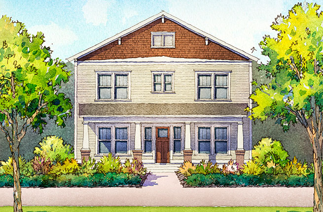 Del Mar Plan by Dan Ryan Builders, New Homes in South Carolina