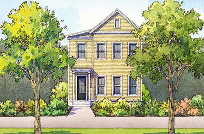 Dogwood Plan a FrontDoor Communities House Drawing in Summerville, SC