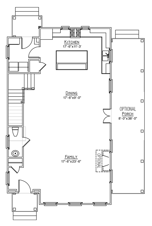 Dahlia Plan a FrontDoor Communities First Floor Plan in Summerville, South Carolina