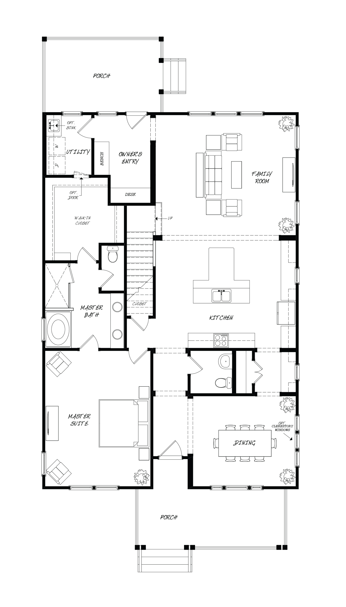 Firethorn Plan a Sabal Homes First Floor Plan near Charleston, SC