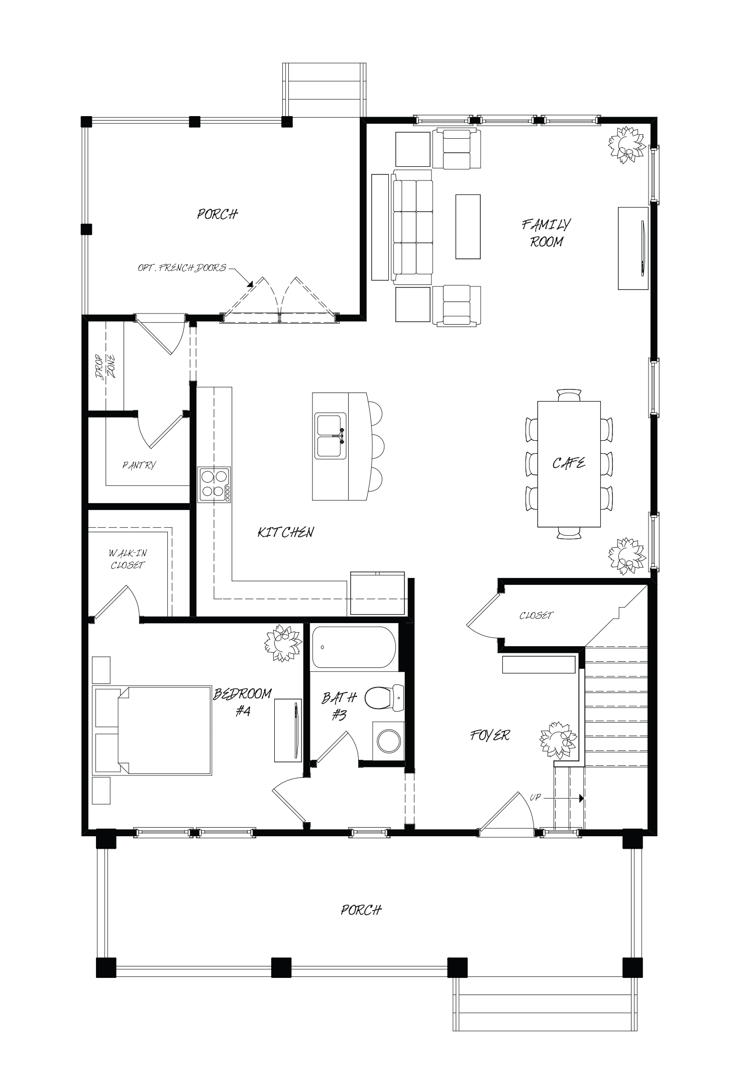 Nandina Plan a Sabal Homes First Floor Plan in Summerville, SC