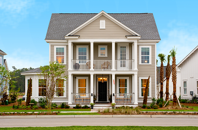 Firethorn Plan a Sabal Homes Street View near Charleston, SC