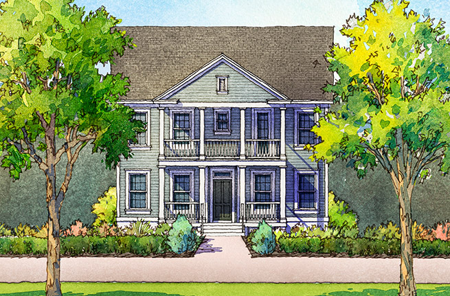 Firethorn Plan by Sabal Homes, New Homes in Summerville