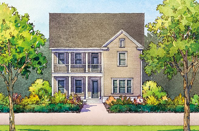 Keeneland Plan by Dan Ryan Builders, New Homes in South Carolina