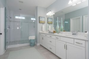 Keeneland Plan a Dan Ryan Builders Master Bathroom View in Summerville, SC