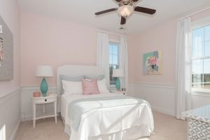 Keeneland Plan a Dan Ryan Builders Girls Bedroom View in Summerville, SC