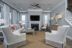 Keeneland Plan a Dan Ryan Builders Living Room View in Summerville, SC