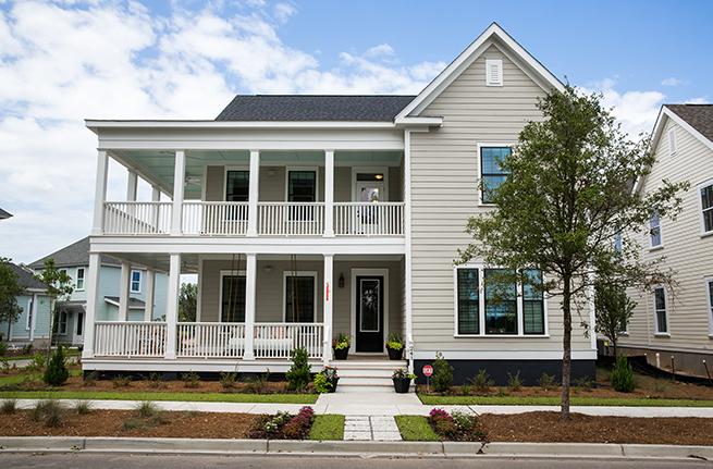 Keeneland Plan a Dan Ryan Builders Front Door View in Summerville, SC