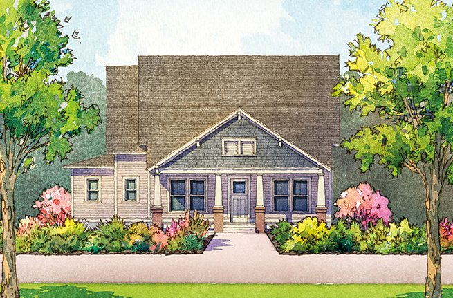 Preakness Floor Plan - New Homes for Sale in Summerville, SC 2