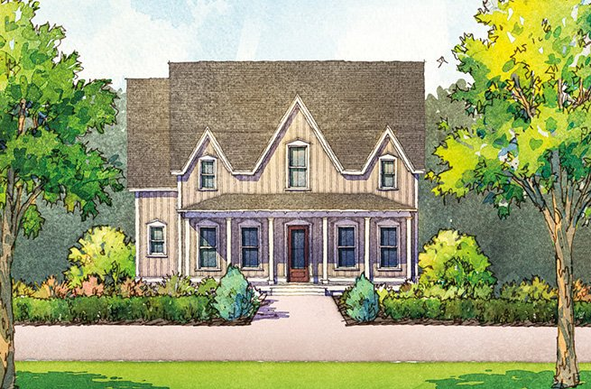 Preakness Floor Plan - New Homes for Sale in Summerville, SC 3