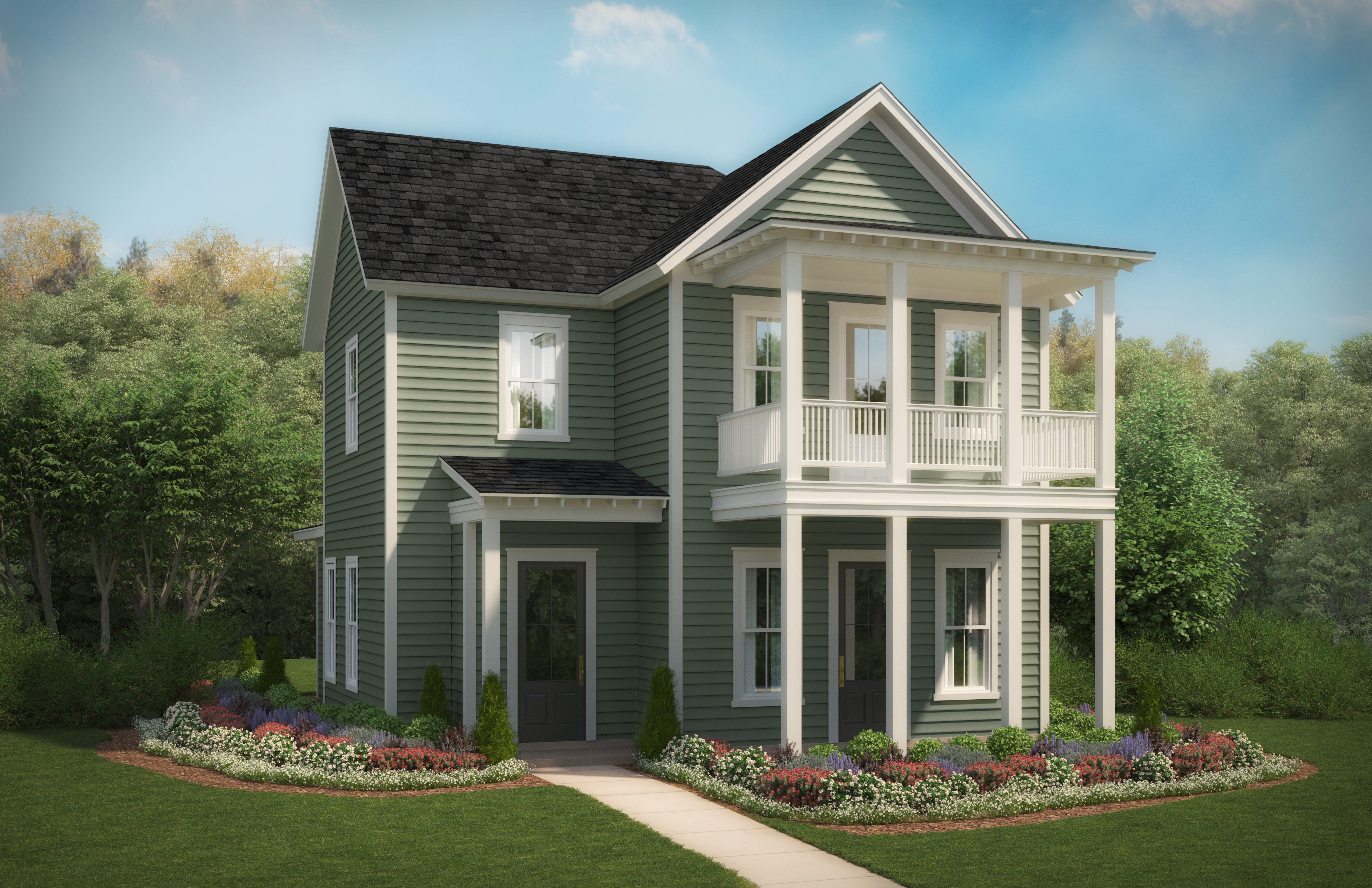 Azalea Plan by Stanley Martin Homes, New Homes in South Carolina