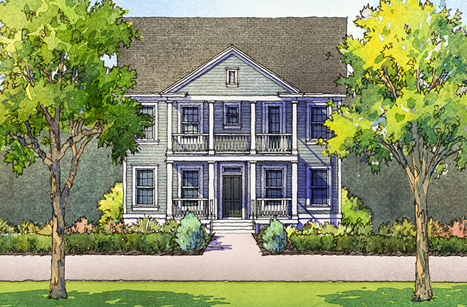 Firethorn Floor Plan - New Homes for Sale in Summerville, SC 2