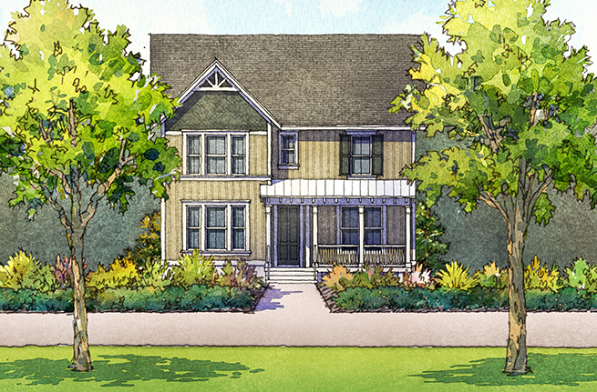 Firethorn Floor Plan - New Homes for Sale in Summerville, SC 14