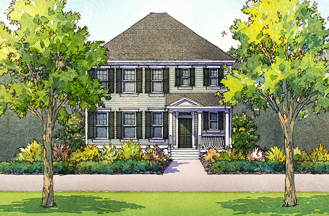 Nandina Floor Plan - New Homes for Sale in Summerville, SC 2