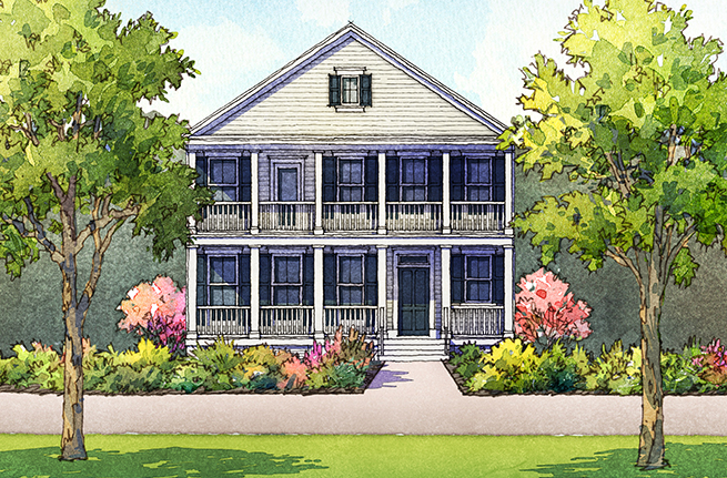 Nandina Floor Plan - New Homes for Sale in Summerville, SC 3