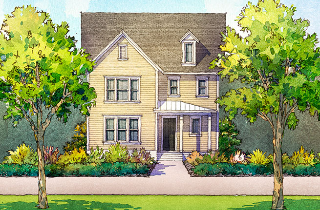 Golden Bell Plan by Sabal Homes, New Homes in Summerville