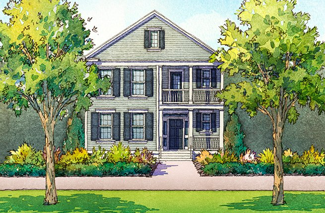 Juniper Floor Plan - New Homes for Sale in Summerville, SC 2