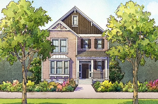 Juniper Floor Plan - New Homes for Sale in Summerville, SC 3