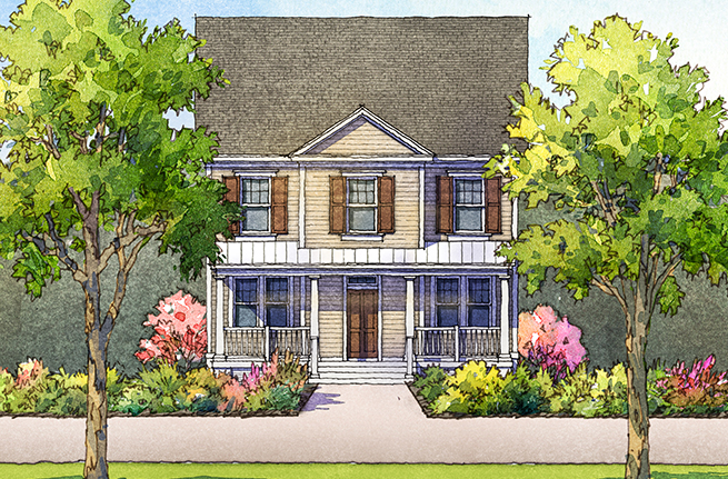 Pampas Floor Plan - New Homes for Sale in Summerville, SC 2
