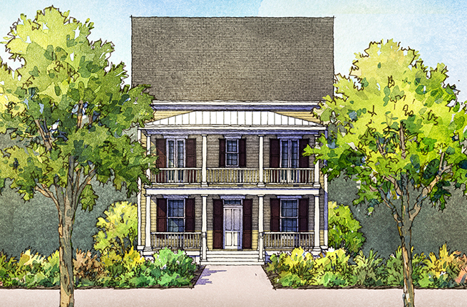 Pampas Floor Plan - New Homes for Sale in Summerville, SC 3