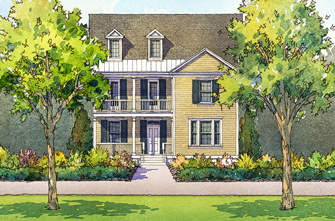 Tea Olive Floor Plan - New Homes for Sale in Summerville, SC 2