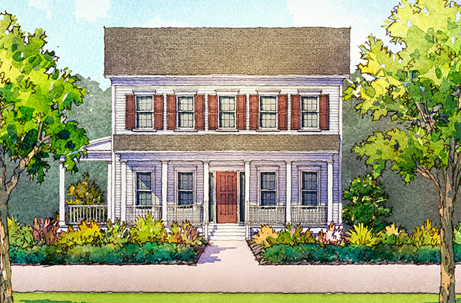 305 Greenhouse Row   Leyland Plan by Stanley Martin Homes, New Homes in Summerville