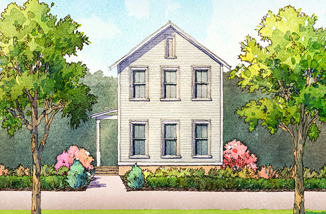 Lily Plan by Saussy Burbank, New Homes in South Carolina