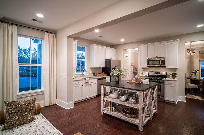 Lily Plan a FrontDoor Communities Kitchen View in Summerville, SC