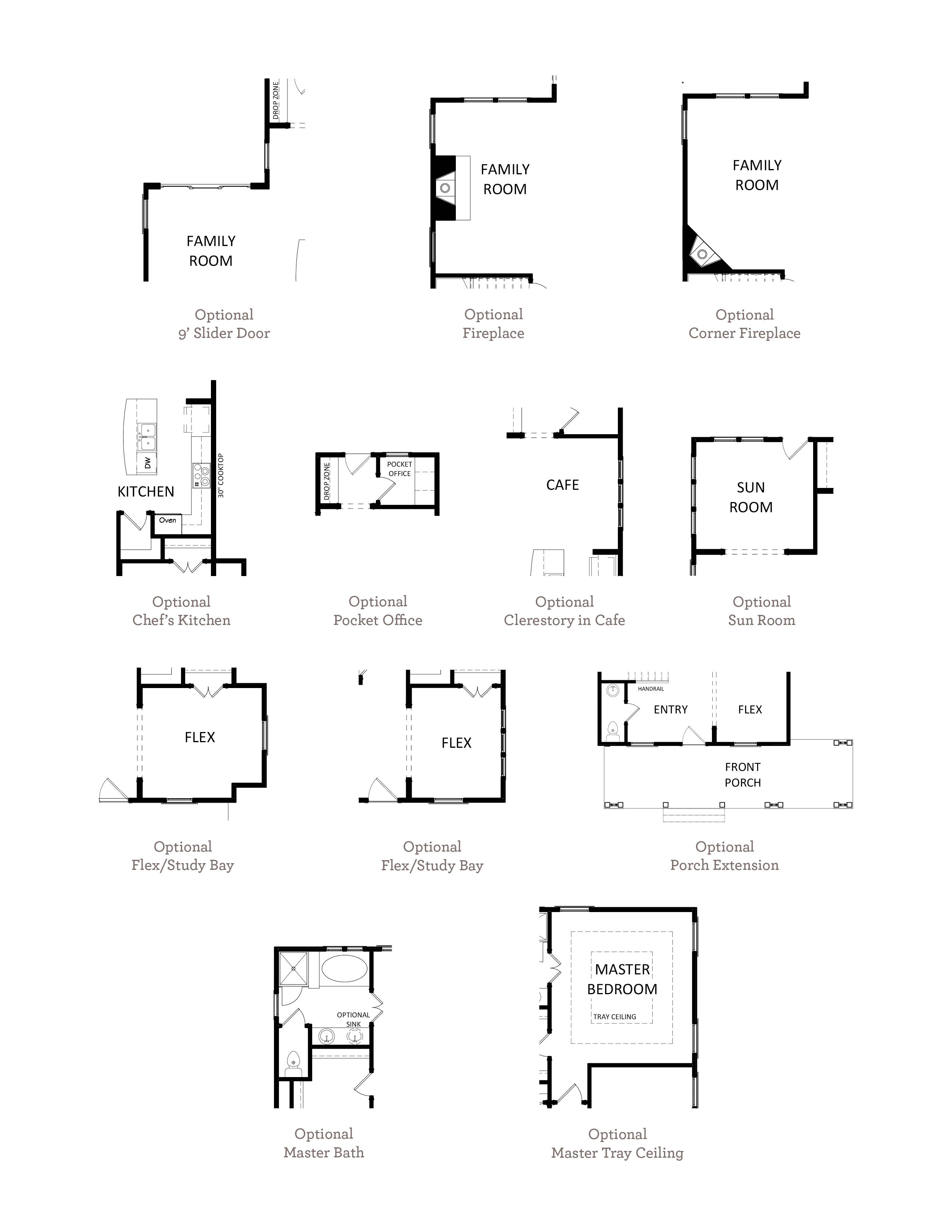 Ellis Plan a Sabal Homes Option Floor Plan in Summerville, South Carolina